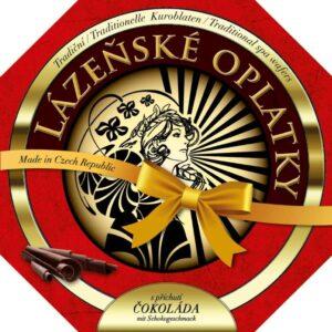 Lázeňské oplatky čokoládové 175g – natírané