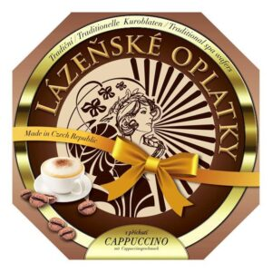 Lázeňské oplatky cappuccino 175g – natírané