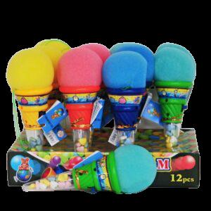 ICE CREAM BALL – vystřelovací balonek