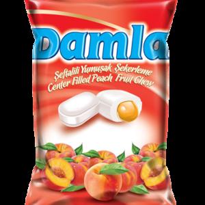 DAMLA karamely plněné – broskvové 90g