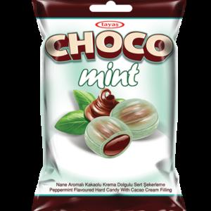 CHOCO MINT – plněné mentolové bonbony 90g