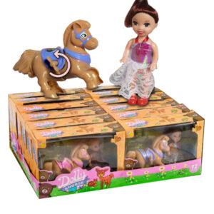 DOLLY&HORSE – panenka s koníkem