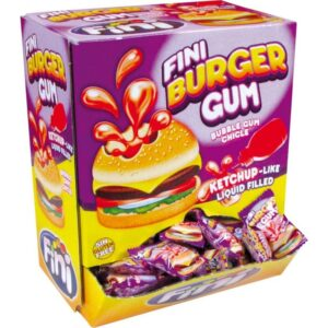 FINI žvýkačky – BURGER 5g