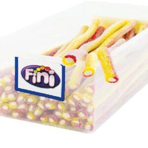 FINI MAXI jahoda/banán – kyselý 25g