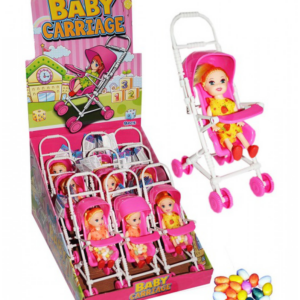 BABY ON BOARD – panenka v kočárku