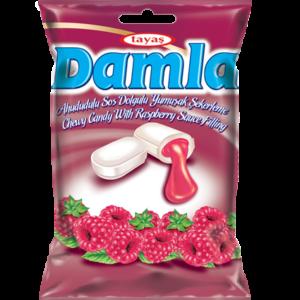 DAMLA karamely plněné – malinové 90g