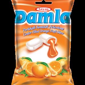 DAMLA karamely plněné – pomerančové 90g