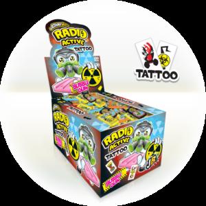 JOHNY BEE RADIOactive gum + tattoo 5g