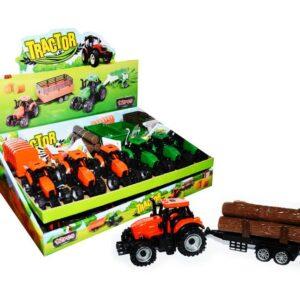 TRACTOR CANDY TOYS – traktor s vlečkou