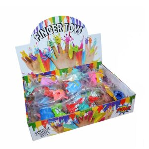 FINGER TOYS – gumové hračky na prst