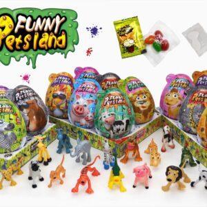 FUNNY PETSLAND – maxi vajíčka 4v1 21 g