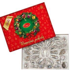 Vánoční kolekce z hořké čokolády – 490 g