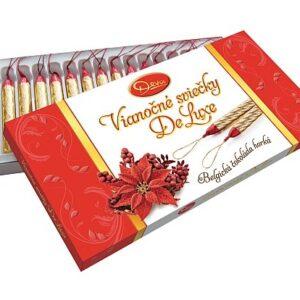 Vánoční svíčky z hořké čokolády – 200 g