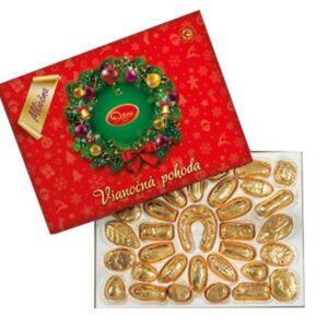 Vánoční kolekce z mléčné čokolády – 490 g
