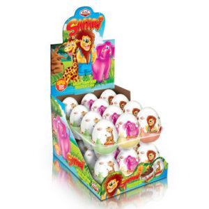 SAFARI – čokoládová vajíčka s překvapením 25 g